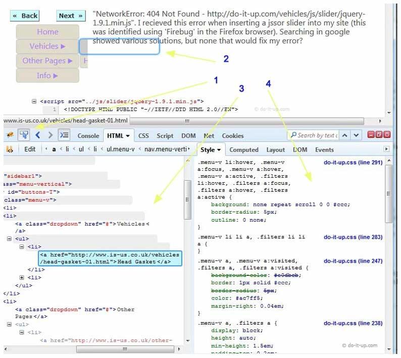 CSS Flyout Menu Cut Off - Code