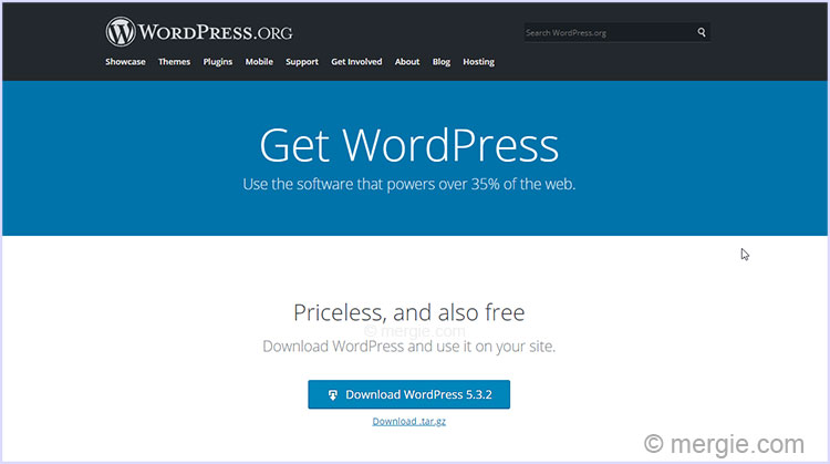 Download WordPress (Get WordPress)