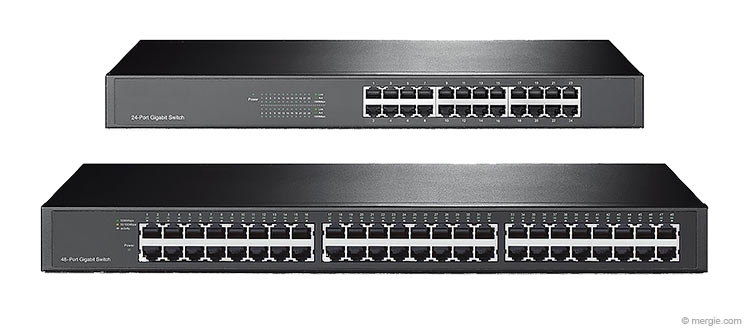 Ethernet Network Switches (24 & 48 Port)