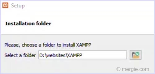 Testing Server Install Location (New) - XAMPP