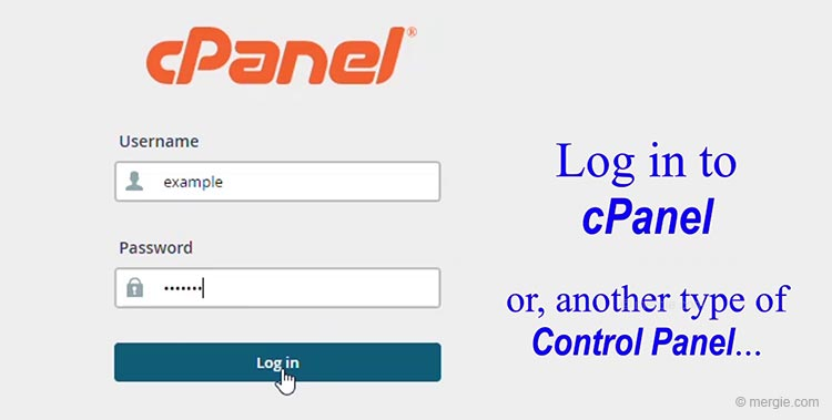 The Web Hosting Control Panel Log in - cPanel