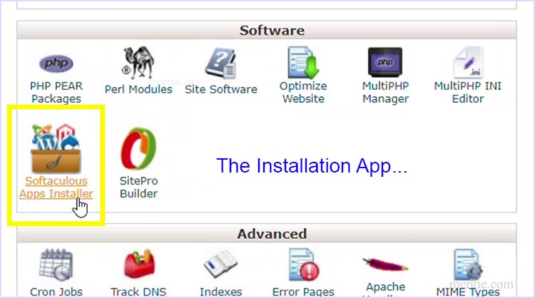 The Web Hosting Control Panel - App Installer (Softaculous)