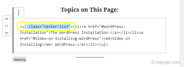 WordPress - I Edited my Text in HTML and it Won't Save the Changes - Selecting the HTML Text to Delete