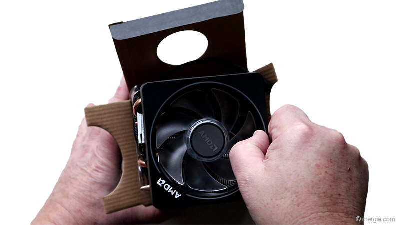 AMD Chip Heatsink and Fan