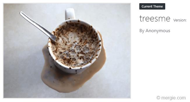 WordPress Theme - Adding the Theme Details